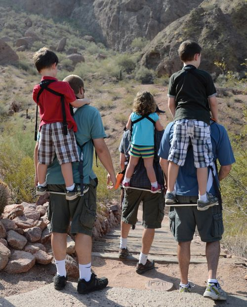 The multi-award winning Piggyback Rider ® toddler backpack carrier ...