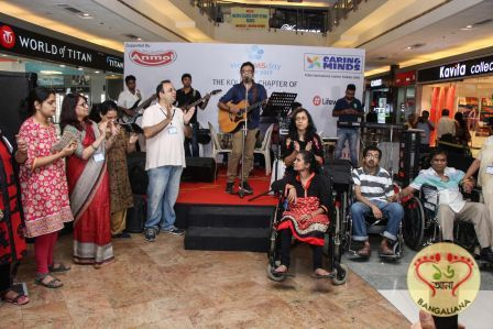 World Multiple Sclerosis Day was observed by the World Multiple Sclerosis Society of India, Kolkata Chapter at Mani Square Mall recently.