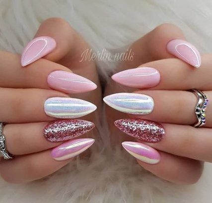 nails design almond ideas fans 59 trendy ideas  almond