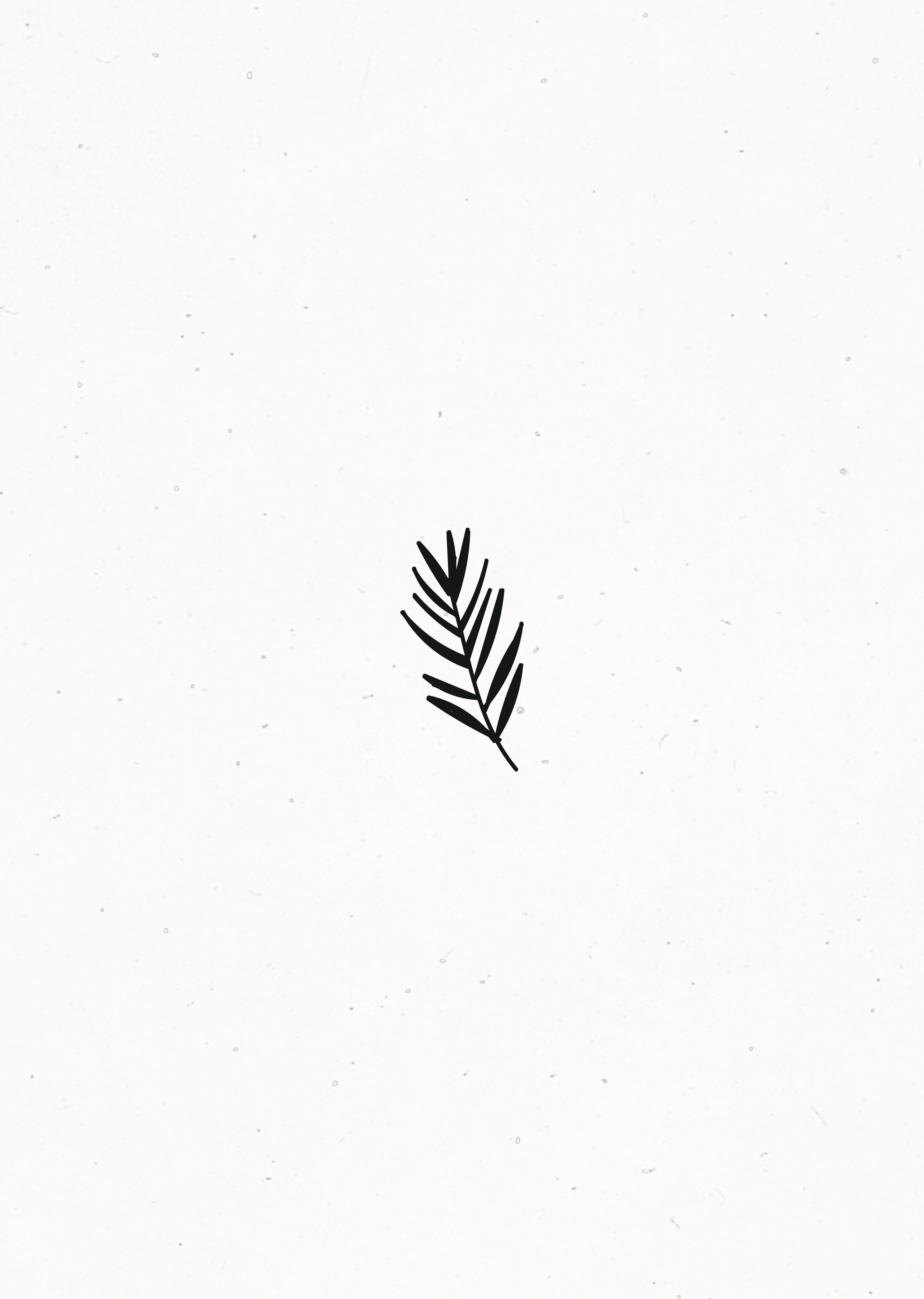 Minimalist Simple Leaf Tattoo: Leaves Doodle, Minimalist Drawing, Doodle Tattoo