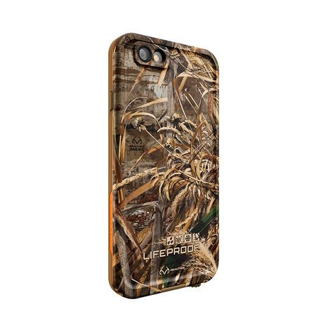 reputable site 34f64 c3c99 LifeProof FRĒ with Realtree camo for iPhone 6 case in blaze orange ...