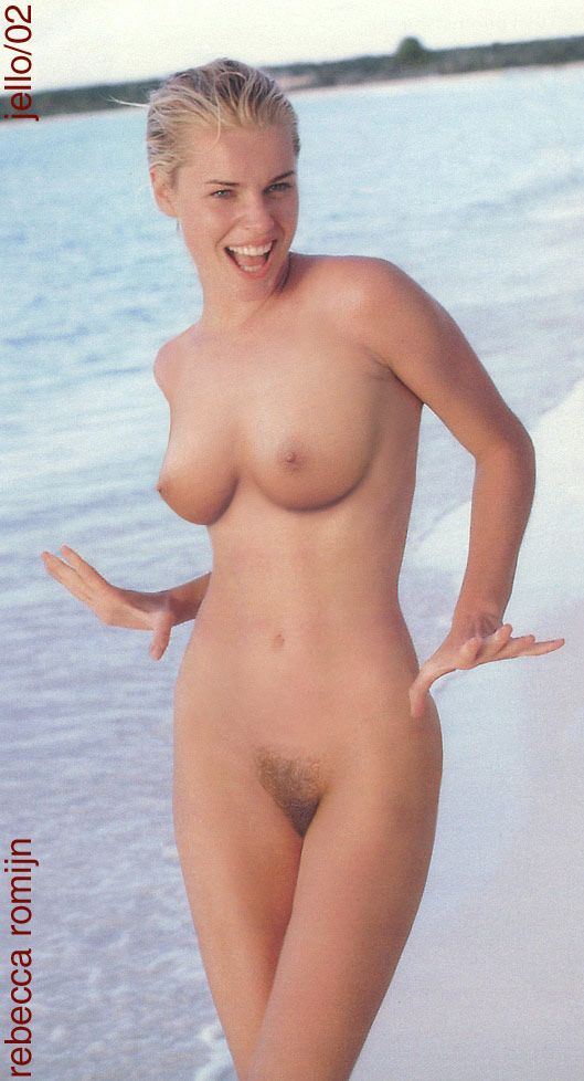 Are Rebecca romijn desnuda nude naked consider, that