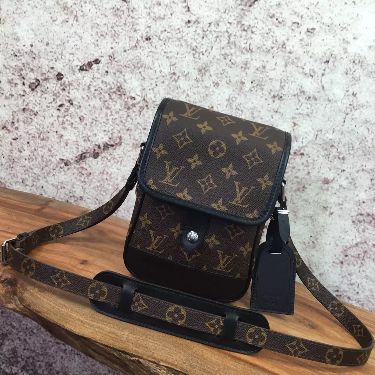 c3e0901b1e18 Louis Vuitton Monogram Canvas Men s Mini Messenger Bag Spring 2017 Louis  Vuitton 2017