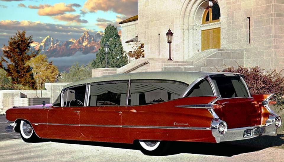 1959 hearse cadillac cars i want cars cadillac classic cars rh pinterest com