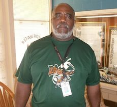 Cisco Frierson is a parent volunteer that goes above and beyond.Gladewater isd