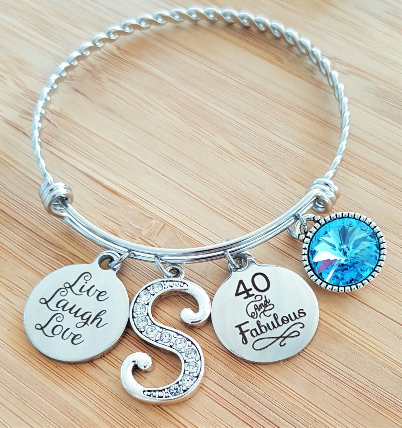 40 Birthday Gift 40th Gifts For Her Friend Bestfriend Year Old By KainsBoutique