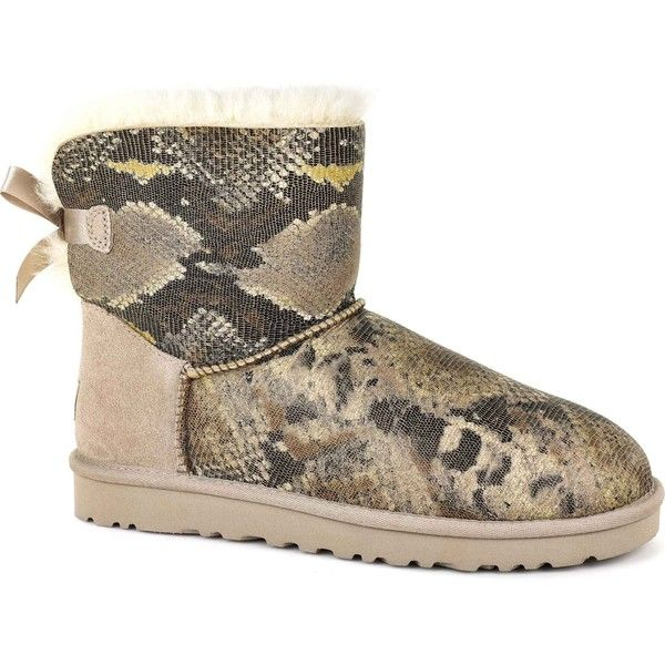 2dbeb93bb4c new zealand ugg mini bailey bow snake e05a1 85161