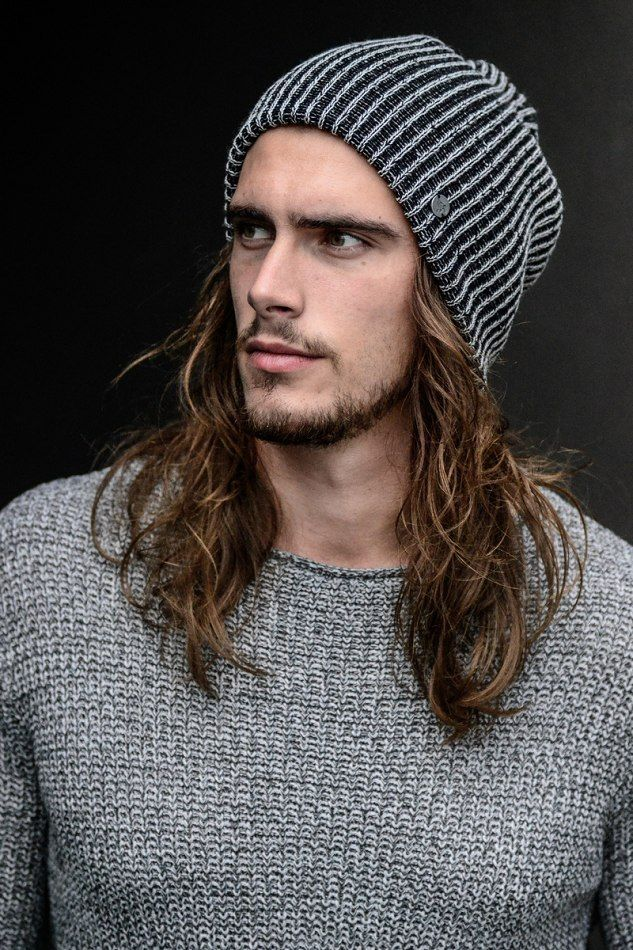 Image result for long haired man with beanie  aa855df8f2e