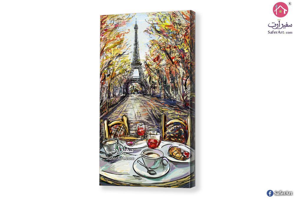 لوحة برج إيفيل سفير ارت للديكور Wall Frames Eiffel Tower Tower