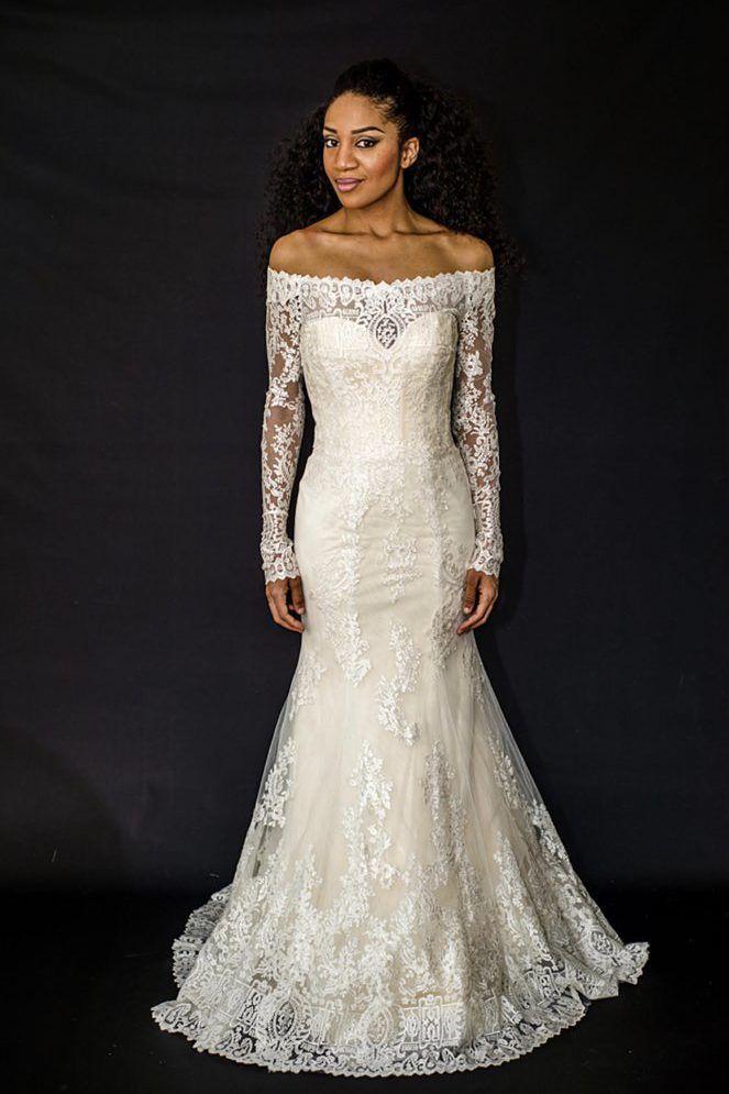 6 Black Wedding Dress Designers to Wear on the Big Day | Pinterest ...