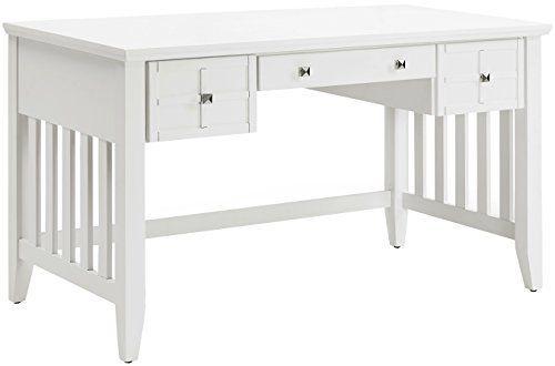 crosley furniture cf6508 wh adler computer desk with keyboard tray rh pinterest com