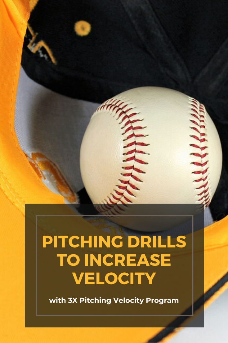 Pitching Drills To Increase Velocity With 3x Pitching Velocity Program Pitching Drills Velocity Drill