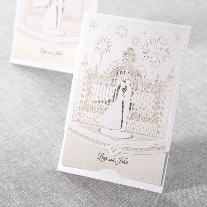 Attrayant Fairy Tale Wedding Lasercut By B Wedding Invitations