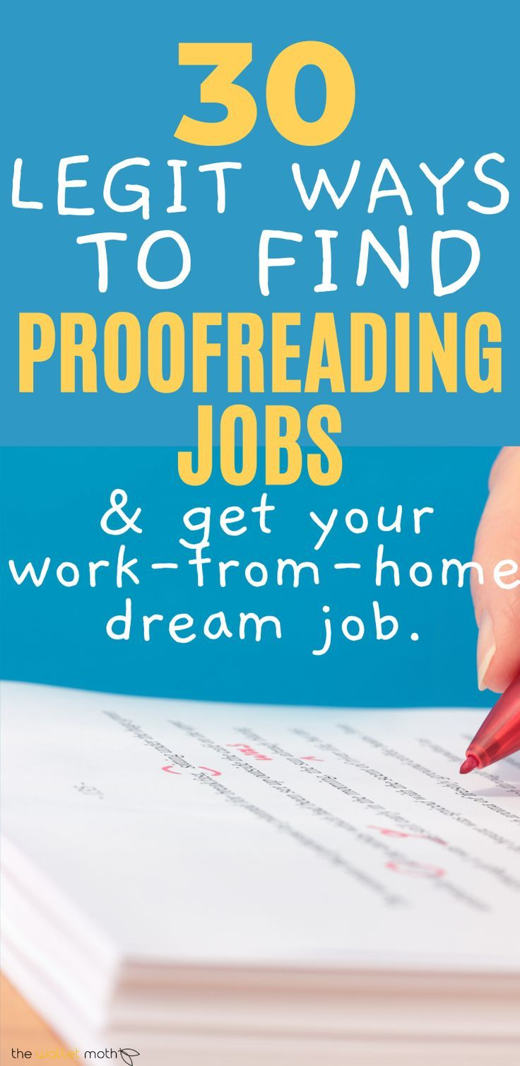 30 Best Online Proofreading Jobs To Work From Home in 2020