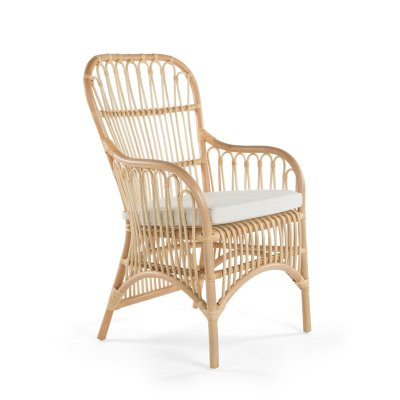 kouboo rattan loop dining arm chair set of 2 products rh pinterest com
