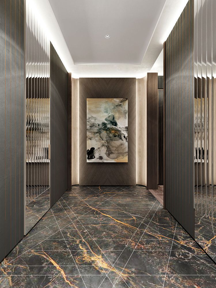 Corridor design foyer wall ceiling house entrance also pin by laura  on in doors rh pinterest