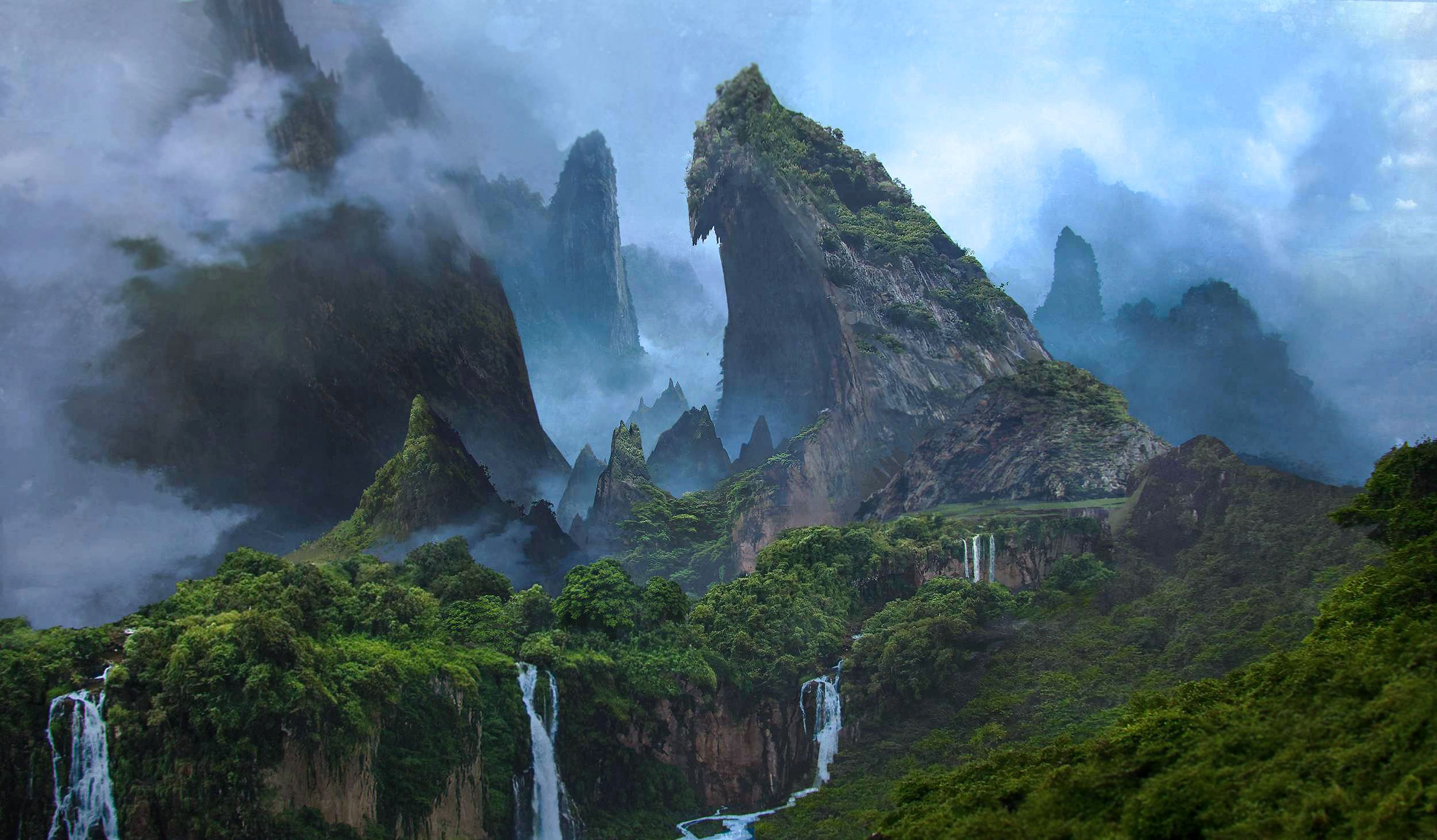 scenic wallpapers, jungle wallpapers, forest wallpapers