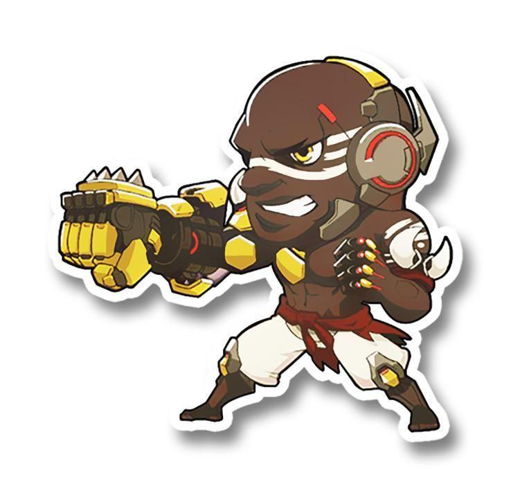 Doomfist sticker