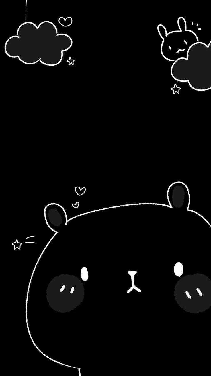 Pin by Chan Neko on nền   Cute cartoon wallpapers, Dark wallpaper ...