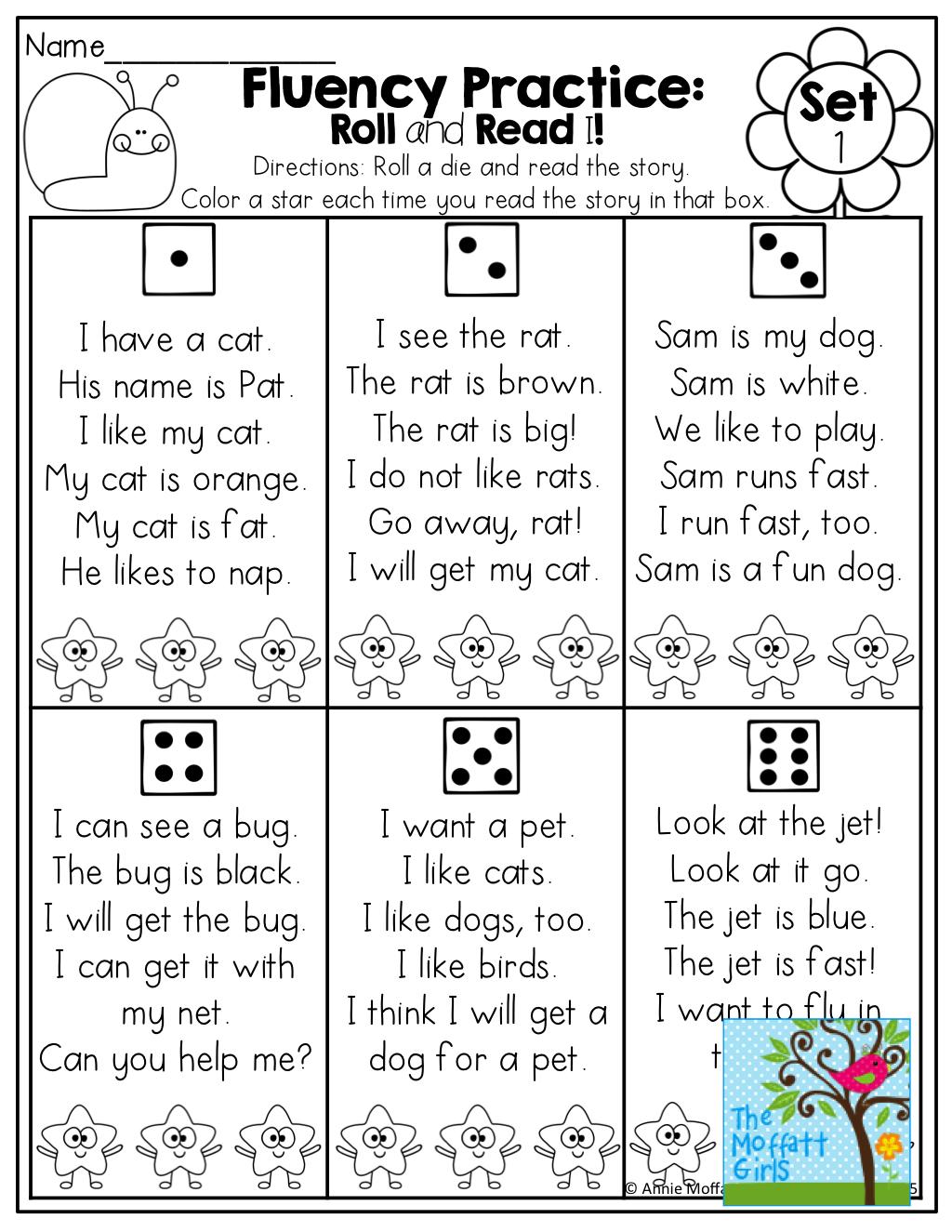 April No Prep Packet Kindergarten