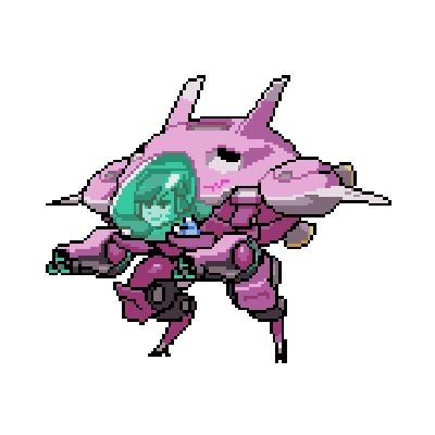 Gamersgarbonzo Overwatch Pixel Art Anime Pixel Art