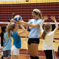 Calvin volleyball players are teaching local middle school girls a calvin volleyball players are teaching local middle school girls a holistic approach to health and ccuart Choice Image