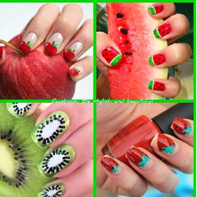 fruity nails ;)