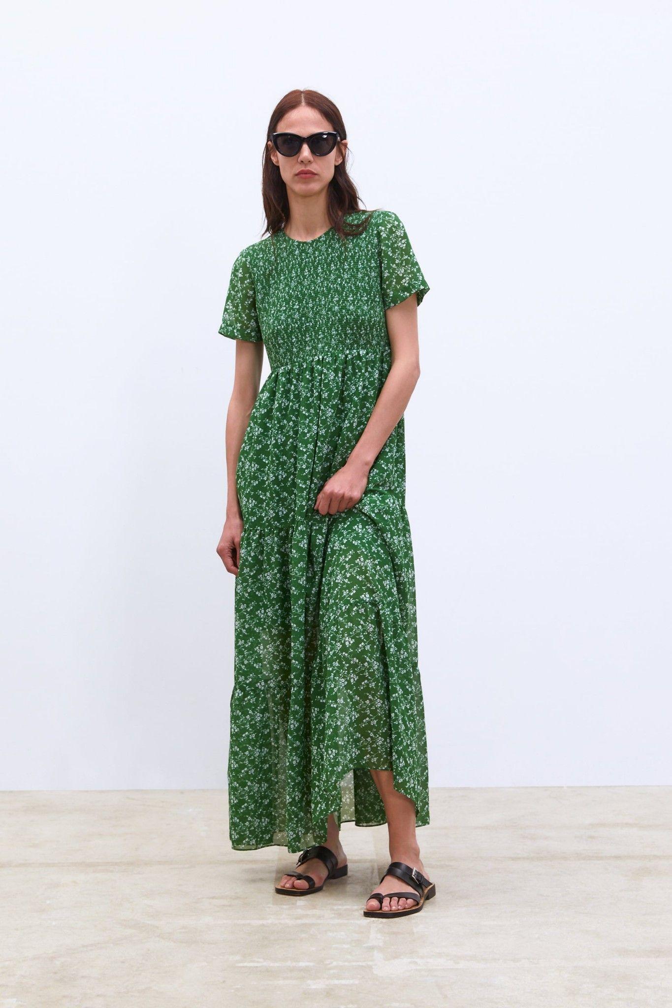 956665eb94c1c Zara dress April 2019 | Closet Envy in 2019 | Floral print maxi ...
