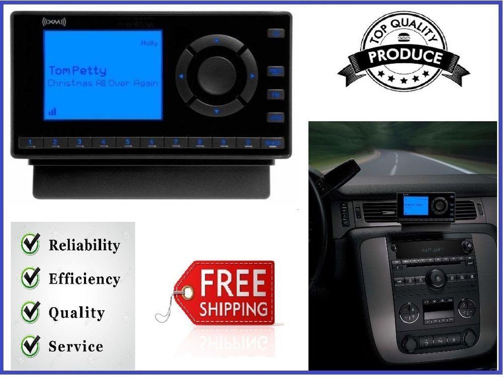 Sirius XM Satellite Radio with Car Kit Black Easily Lock