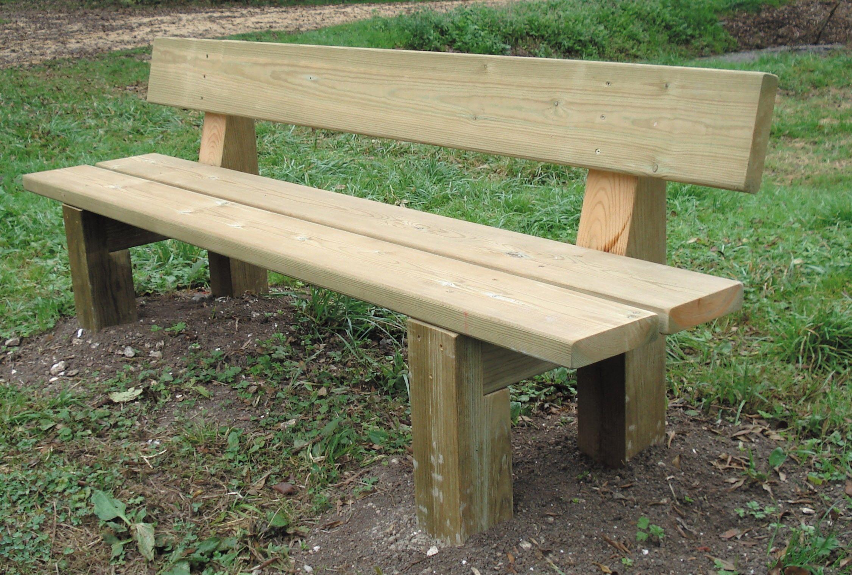 Plan D Un Banc En Bois Plan De Banc En Bois Un Banc En Bois Fabrication D Un Banc En Bois In 2020 Pallet Furniture Outdoor Outdoor Chairs Garden Furniture