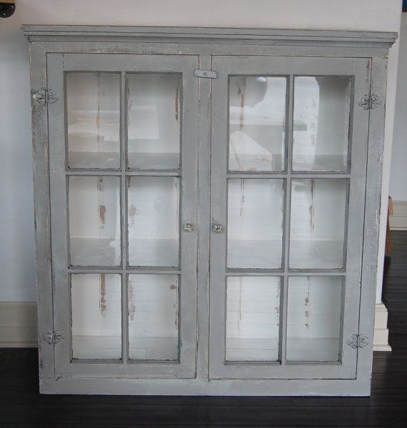 free ship 1800s empire cabinet dining china hutch linen closet w rh pinterest com