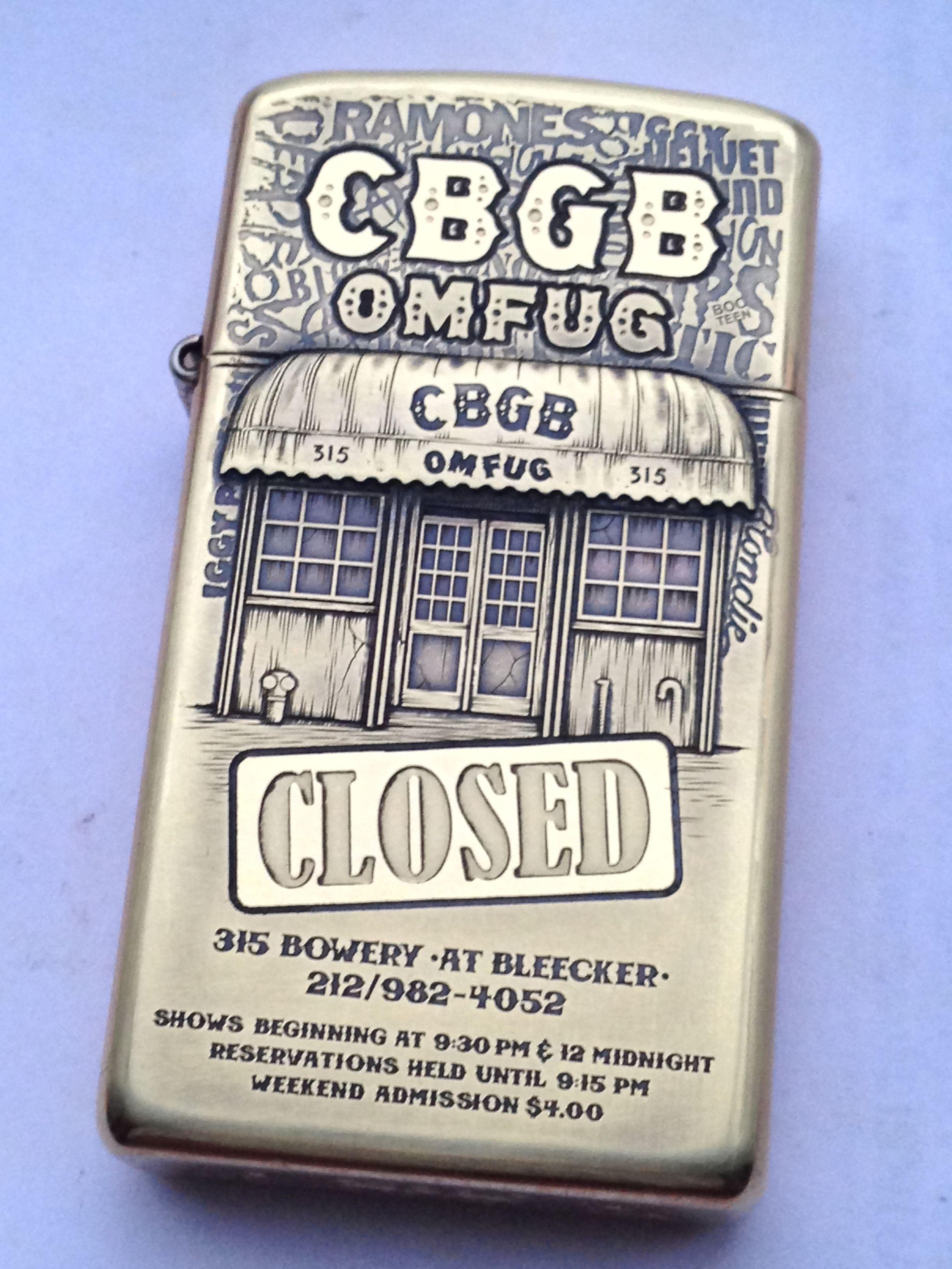 CBGB ZIPPO