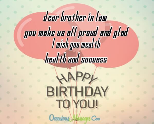 Birthday wishes for son in law birthday images pictures via whether hes your sisters husband or your wifes brother you have to show how great m4hsunfo
