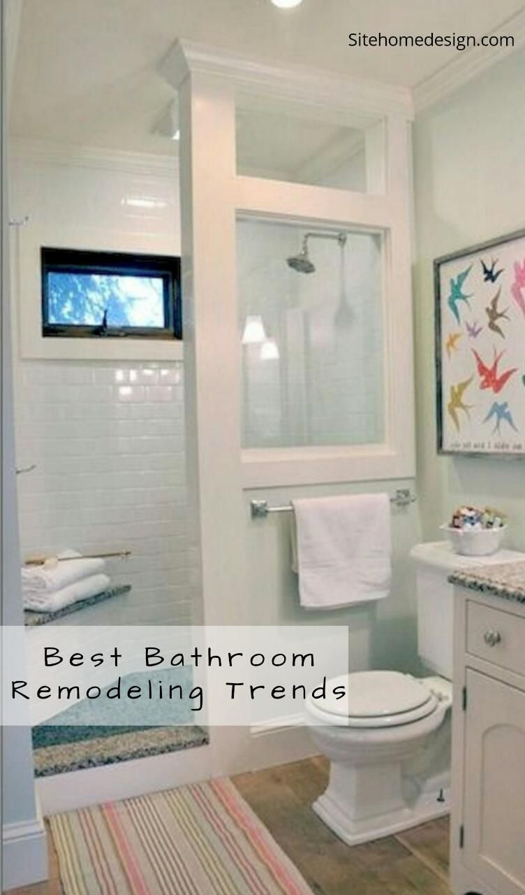 41 ideas of restroom remodels for little rooms you ll intend to rh pinterest com