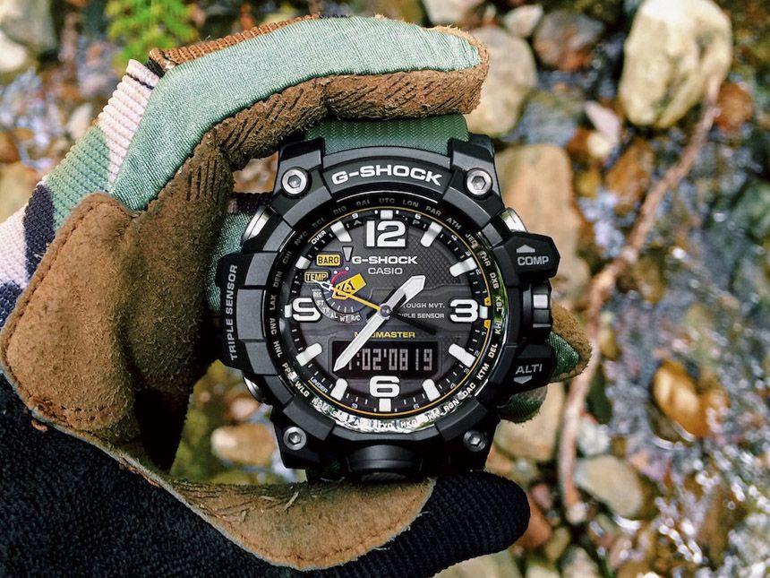 109b164d8f7 Zegarek G-Shock Mudmaster GWG-100-1A3ER Mudmaster to zaawansowany zegarek  sportowy dla mężczyzn!