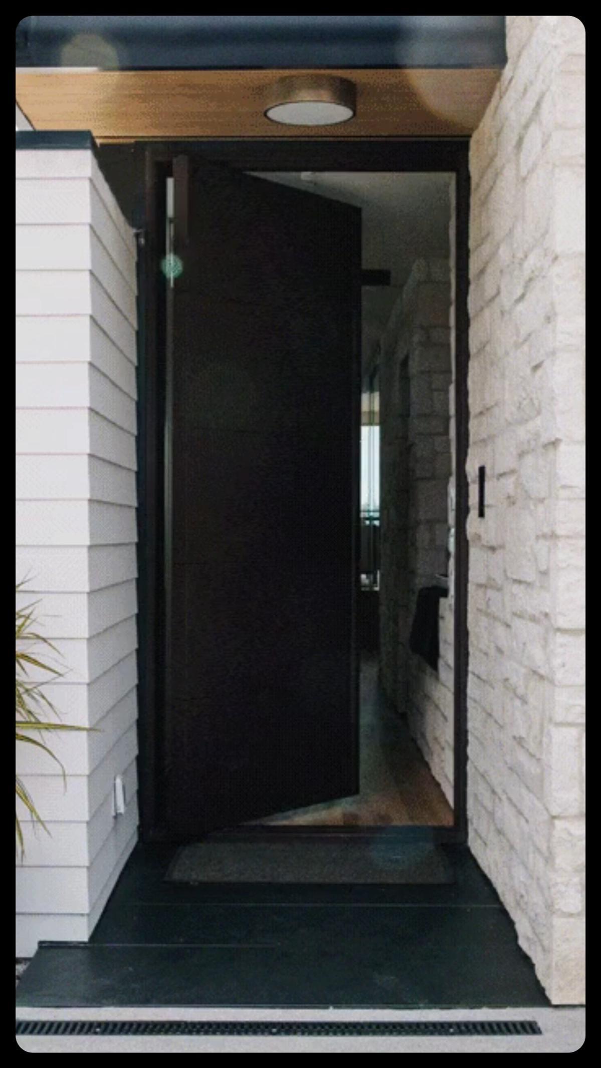 Steel Pivot Entry Doors | Home Design