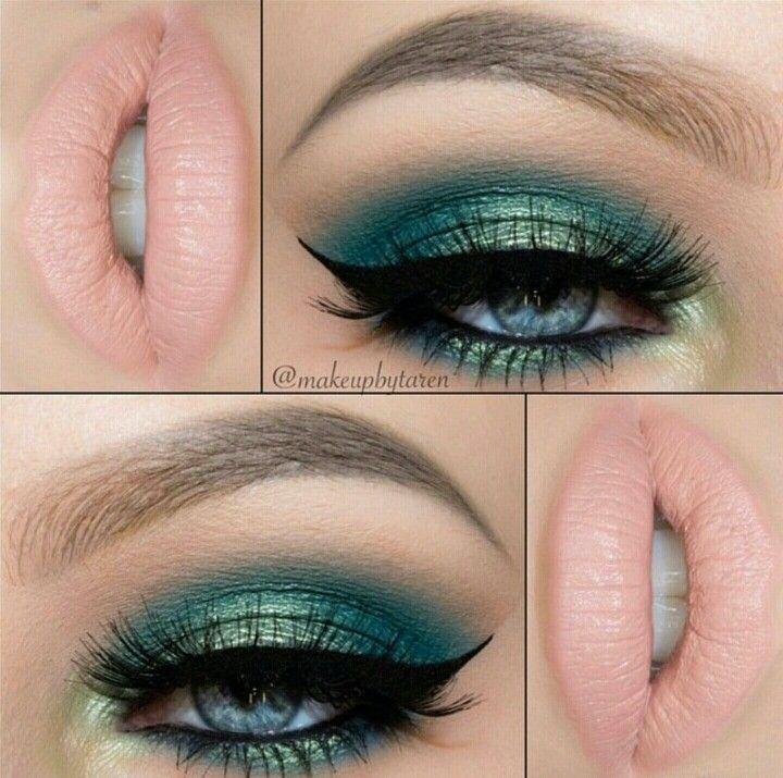 Pinterest ↠ @ndeyepins   Make-up inspiré de la mer // Makeup inspired by the sea