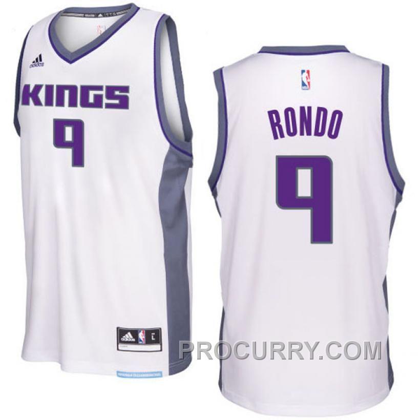 1ae4139fb ... Blue Jersey White jersey · httpswww.procurry.com201617-season-rajon- Sacramento  Kings 9 Rajon Rondo White Stitched NBA ...