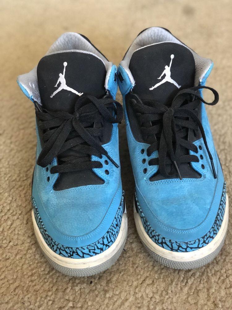 cheap for discount a3fd9 f5c09 Air Jordan 3 Retro Powder Blue - Mens size 10.5  fashion  clothing  shoes   accessories  mensshoes  athleticshoes (ebay link)