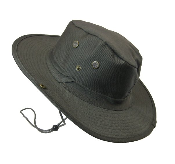 9156ad97533 Safari Bucket Boonie with Drawstring and No Flap Olive Green. Boonie Fishing  Hiking Army Military Camouflage Bucket Outdoor Hat ...