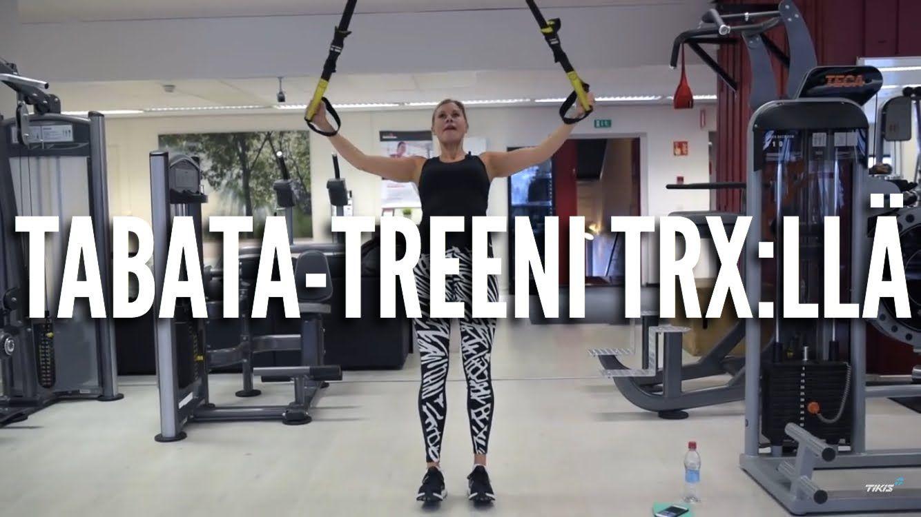 Tabata-treeni TRX:llä - Anna Saivosalmi