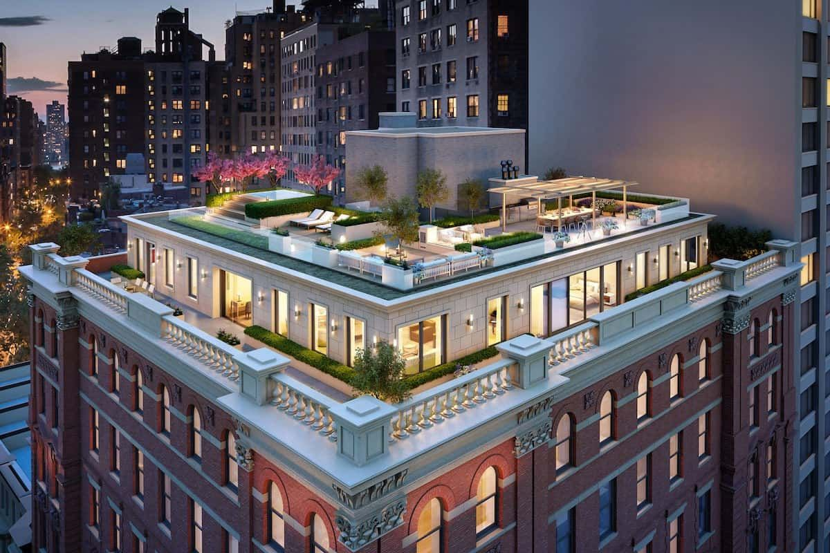 Mind Blowing 101 West 78 Street Penthouse Sells For 20m