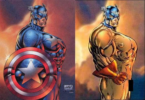 Image result for liefeld captain america anatomy