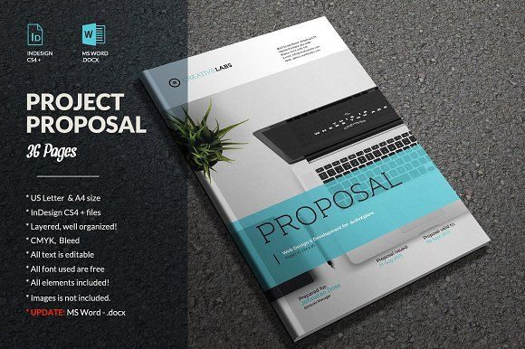 Proposal By Sabin On Creativemarket  Graphicdesign