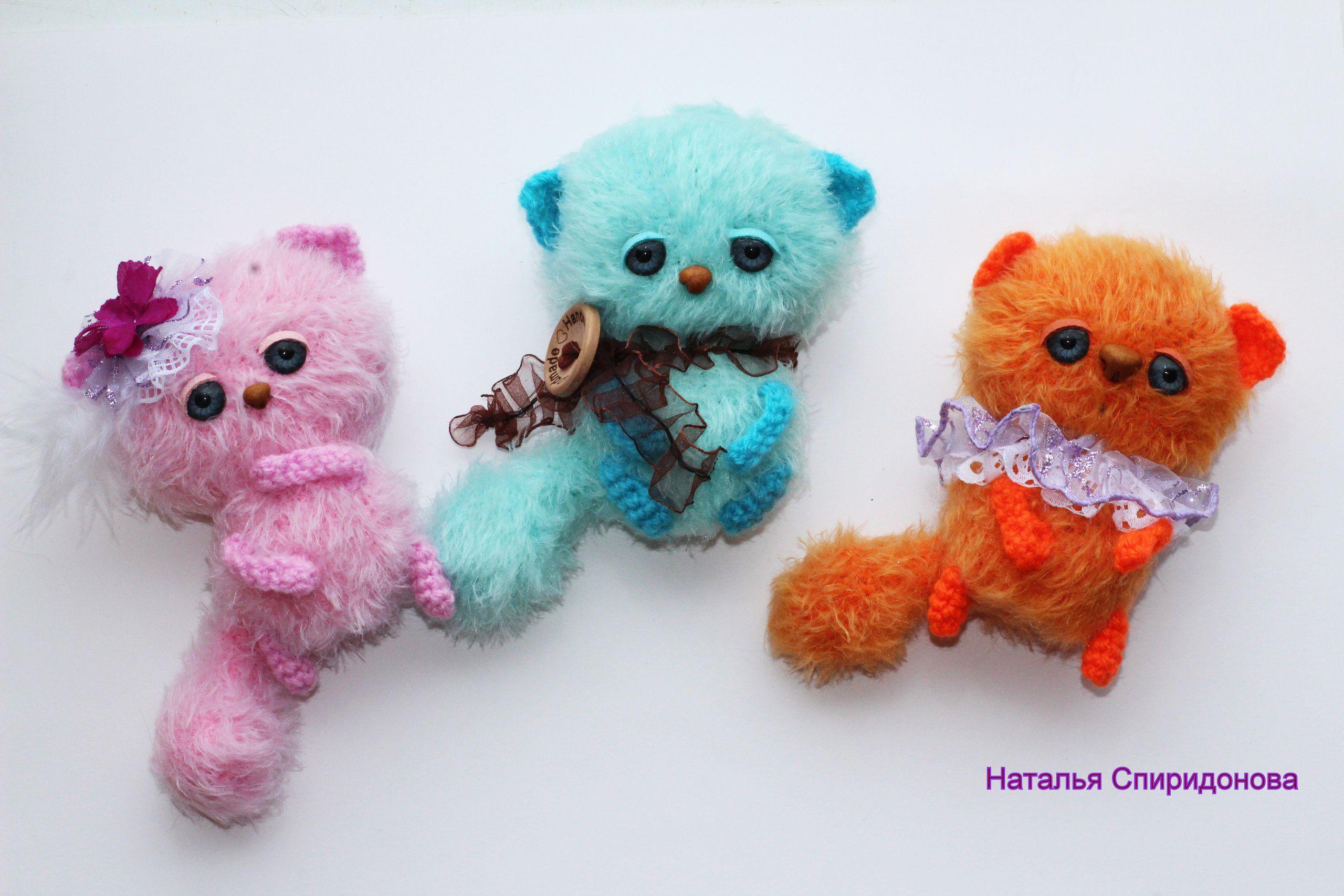 Вязанные игрушки своими руками схемы