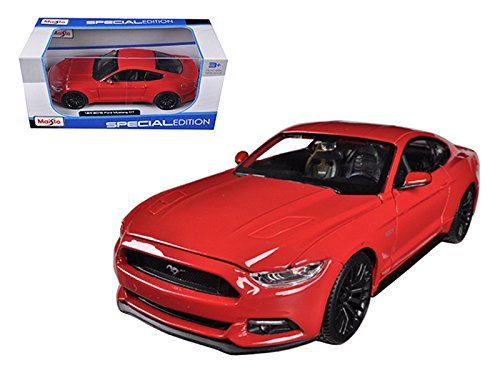 2015 Ford Mustang GT 50 Red 124 Car Model By Maisto    Be Sure To