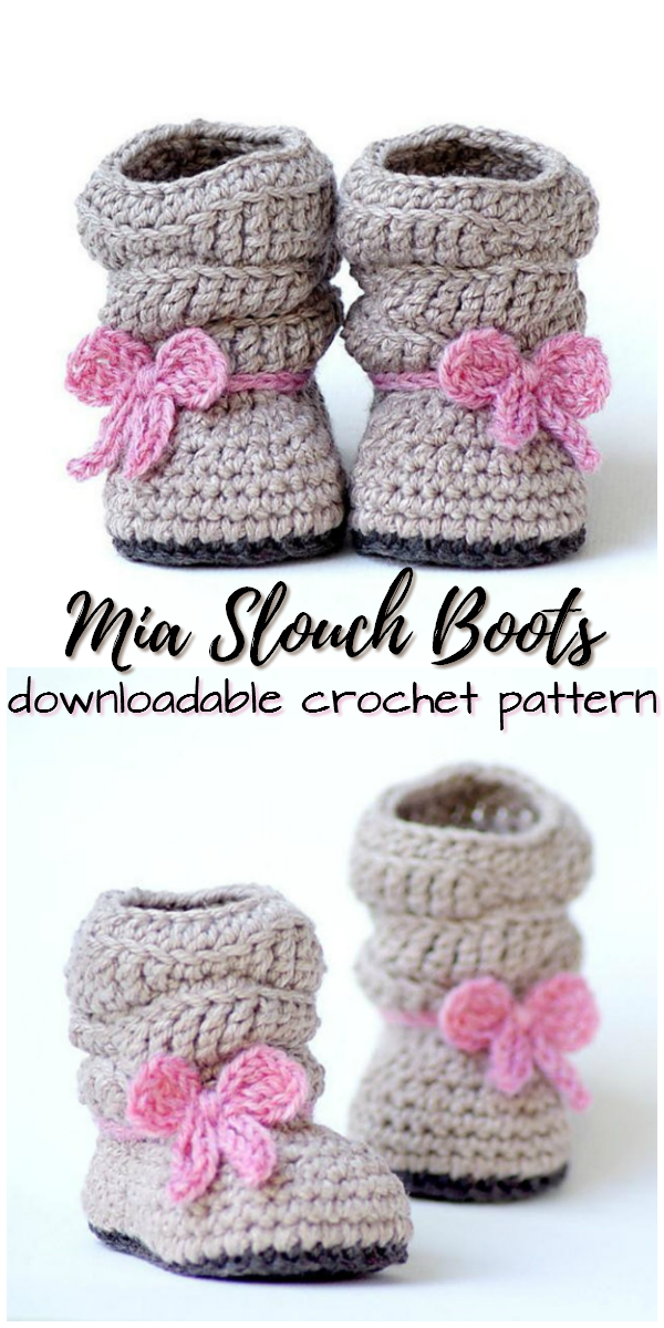 Mia Slouch Boots | crochet | Pinterest | Bebe, Ropa bebe y Zapatos ...