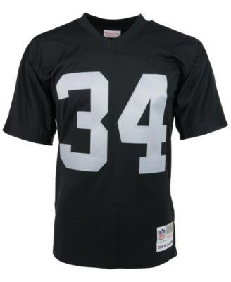 8eebe4745 Mitchell & Ness Men's Bo Jackson Los Angeles Raiders Replica Throwback  Jersey - Black XXL