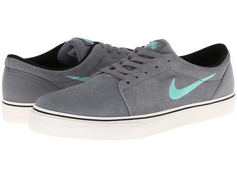 Nike SB Satire Cool Grey/Black/Ivory/Crystal Mint - Zappos.com