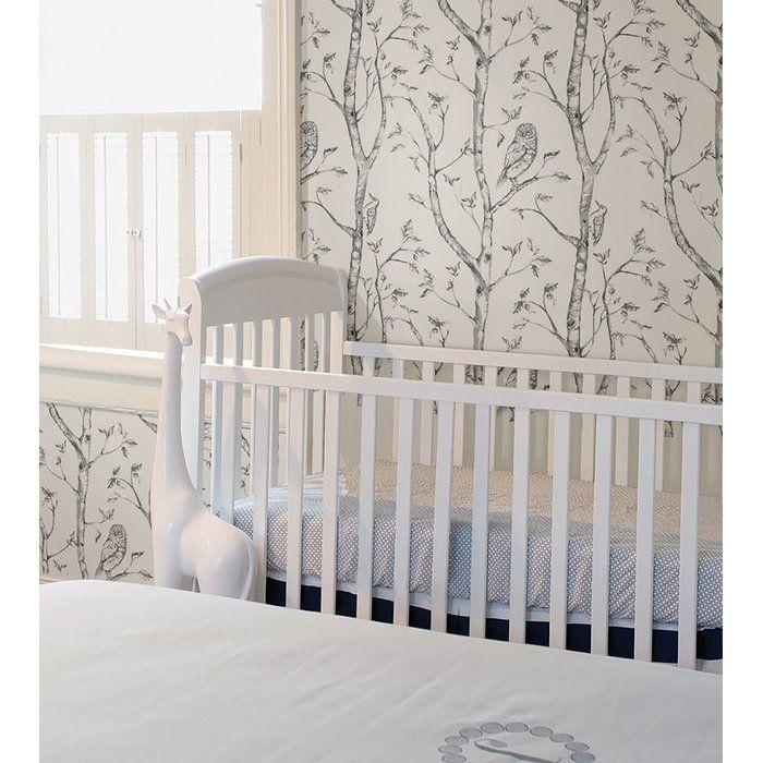 Gabin Gray Woods Peel And Stick Wallpaper Reviews Allmodern Wood Nursery Nuwallpaper Peel And Stick Wallpaper